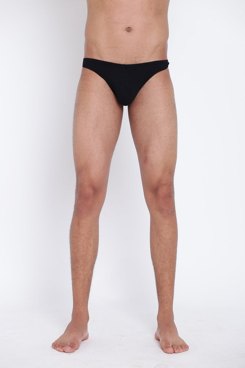 La Intimo, Male, Thigh High LaIntimo Thong, Men, LITH031BK0_XL, LITH031BK0