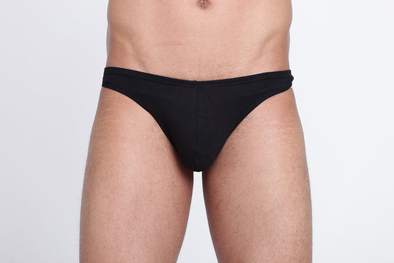 La Intimo, Male, Thigh High LaIntimo Thong, Men, LITH031BK0_M, LITH031BK0