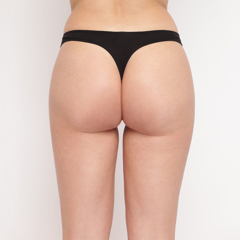 Spank Me (Naughty) Thong (Combo Pack of 3)