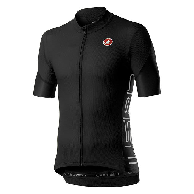 CASTELLI ENTRATA V JERSEY - LIGHT BLACK