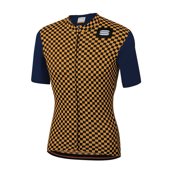 SPORTFUL CHECKMATE JERSEY - BLUE/GOLD
