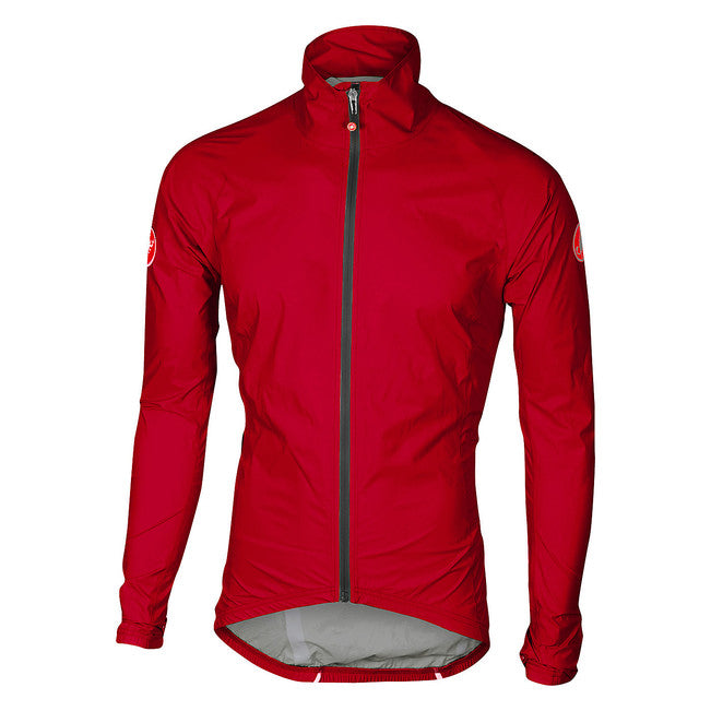 CASTELLI EMERGENCY RAIN JACKET - RED