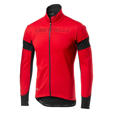 CASTELLI TRANSITION JACKET - RED/BLACK