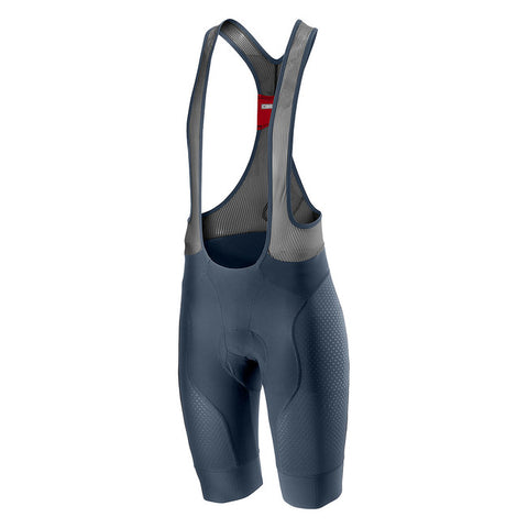 CASTELLI FREE AERO RACE 4 BIBSHORT - DARK STEEL BLUE