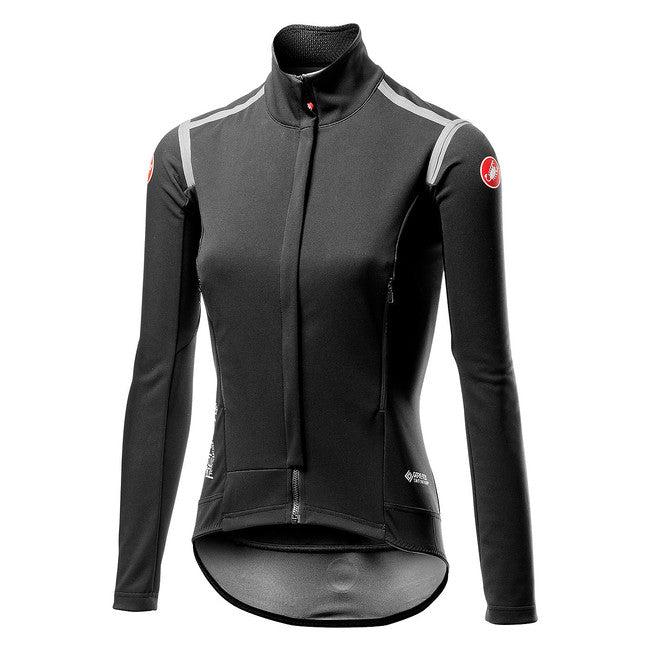 CASTELLI PERFETTO ROS W LONG SLEEVE - LIGHT BLACK