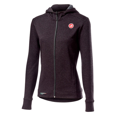 CASTELLI WOMEN'S MILANO FULL ZIP W FLEECE
