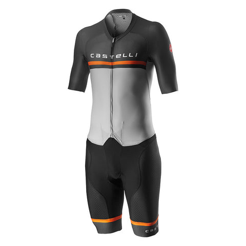 CASTELLI SANREMO 4.0 SPEED SUIT - SILVER GREY
