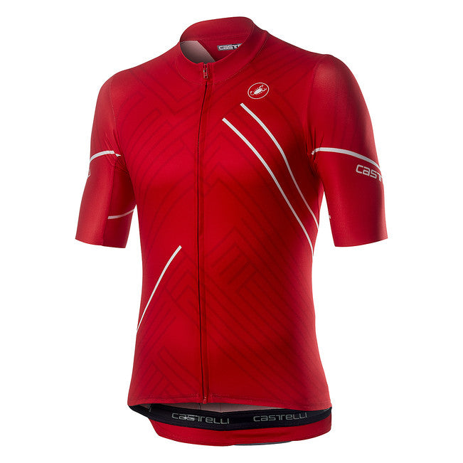 CASTELLI PASSO JERSEY - RED