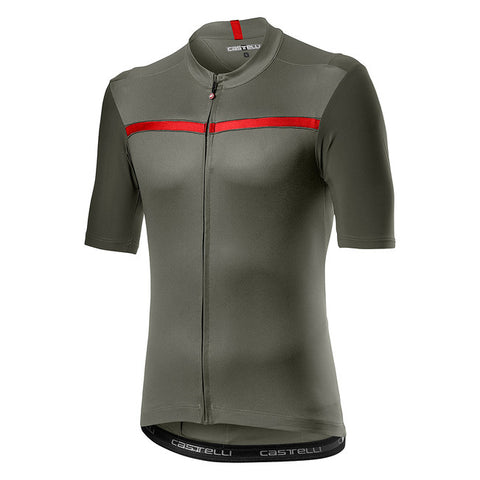 CASTELLI UNLIMITED JERSEY - FOREST GREY