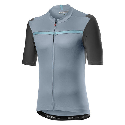 CASTELLI UNLIMITED JERSEY - VORTEX GREY