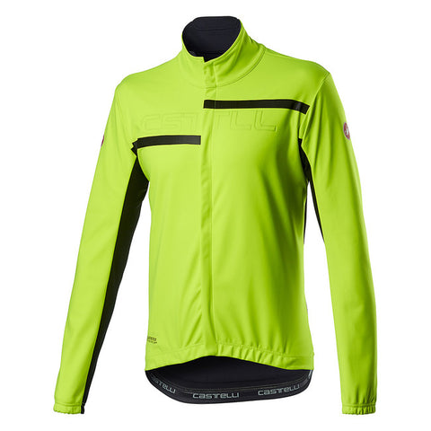 CASTELLI TRANSITION 2 JACKET - YELLOW FLUO
