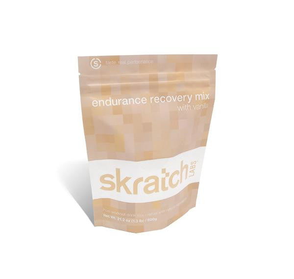 SKRATCH LABS ENDURANCE RECOVERY MIX VANILLA - 600g