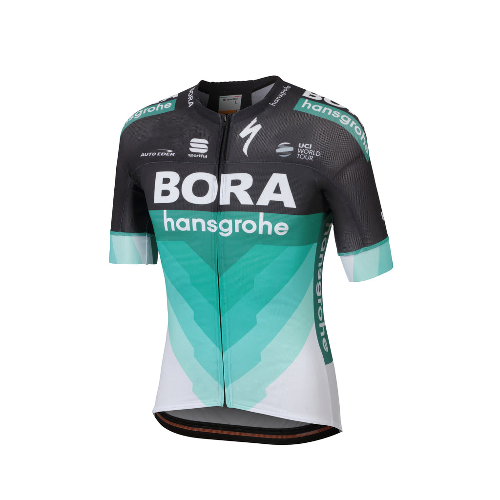 SPORTFUL 2018 BORA-HANSGROHE BODYFIT TEAM JERSEY - BLACK GREEN. Images   1    2 821b3c512