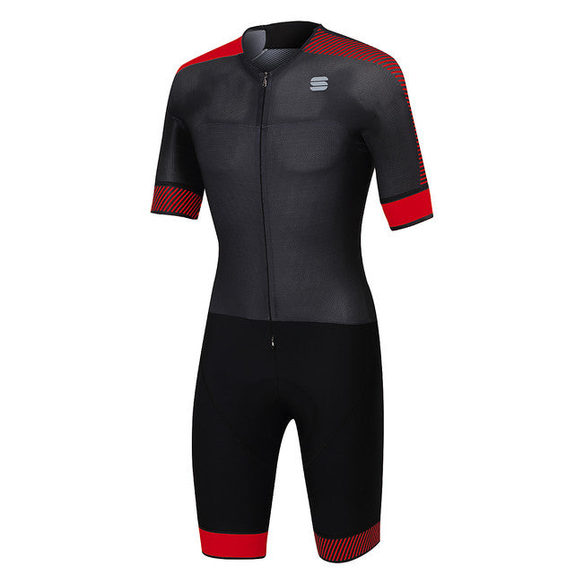 SPORTFUL BODYFIT PRO ROADSUIT - ANTHRACITE/RED