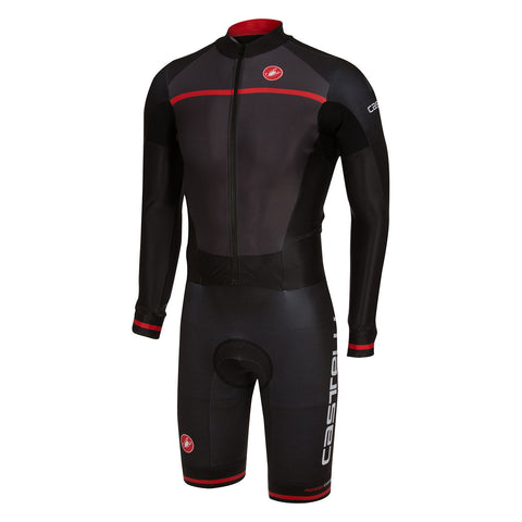CASTELLI CX 2.0 SPEEDSUIT - ANTHRACITE/BLACK