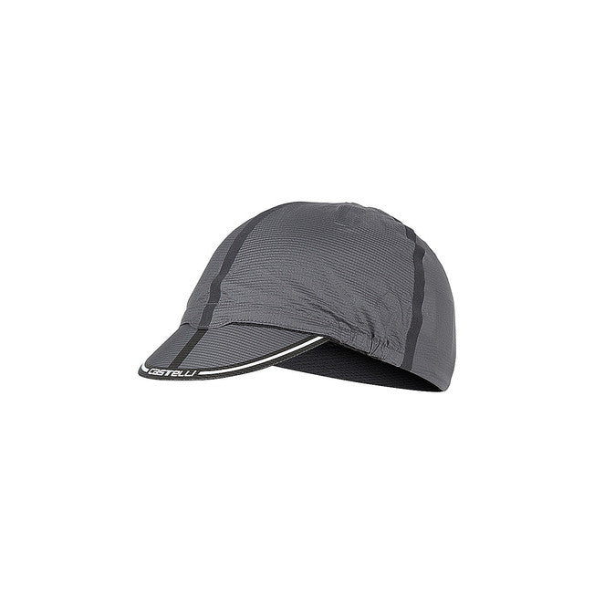 CASTELLI ROS CYCLING CAP - ANTHRACITE
