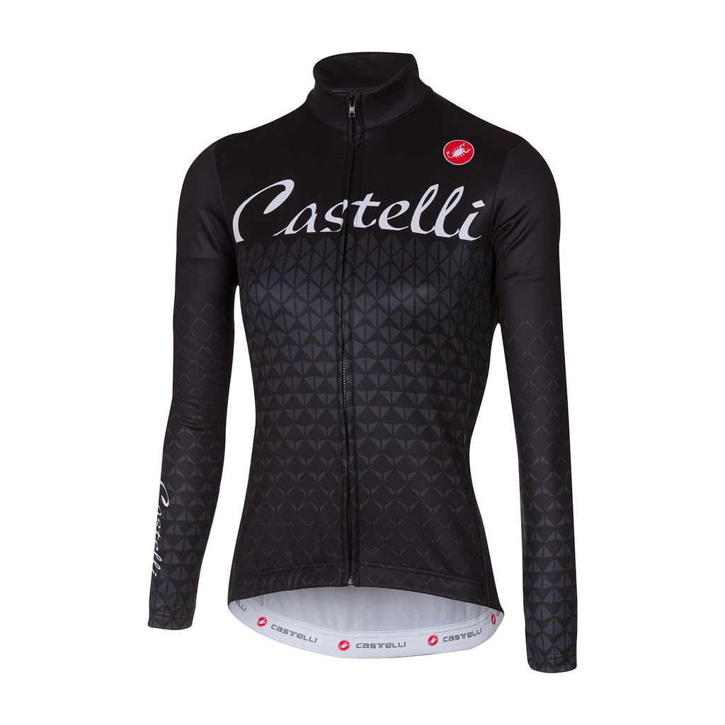 CASTELLI CIAO JERSEY - ANTHRACITE/LIGHT BLACK