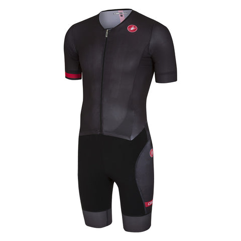 CASTELLI FREE SANREMO SUIT SHORT SLEEVE - BLACK
