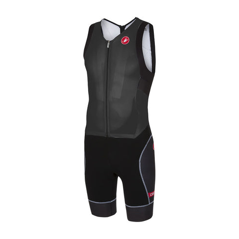 CASTELLI FREE SANREMO SUIT SLEEVELESS - BLACK