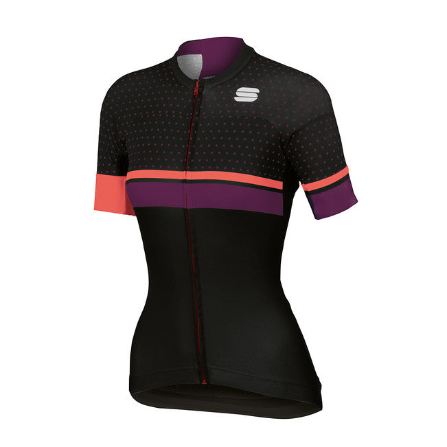 SPORTFUL WOMEN'S DIVA W JERSEY - BLACK