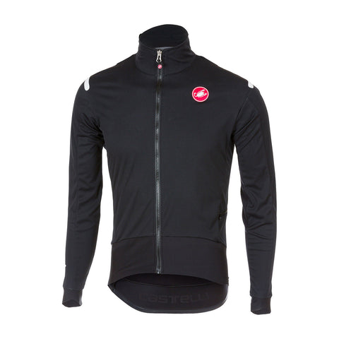 CASTELLI ALPHA ROS LIGHT JACKET - BLACK