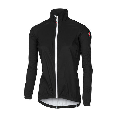 CASTELLI WOMEN'S EMERGENCY W JACKET - BLACK