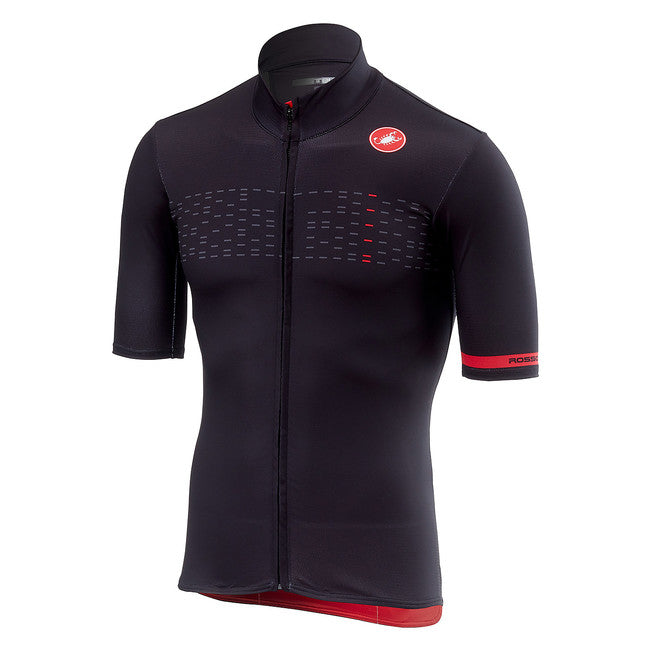 CASTELLI MID WEIGHT SS JERSEY - LIGHT BLACK