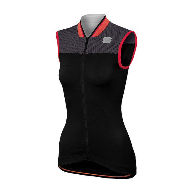 SPORTFUL GRACE SLEEVELESS - BLACK/ANTHRACITE
