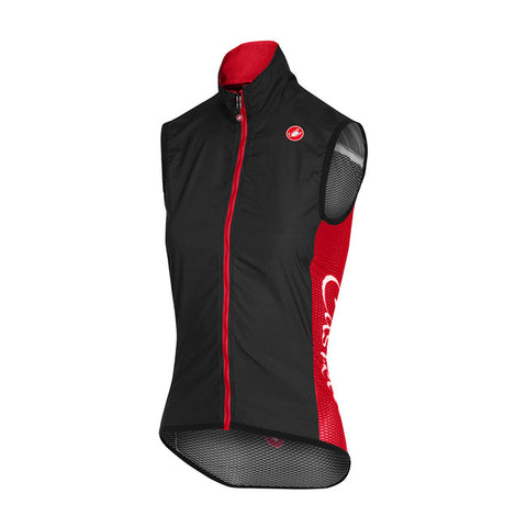 CASTELLI WOMEN'S PRO LIGHT W VEST - BLACK