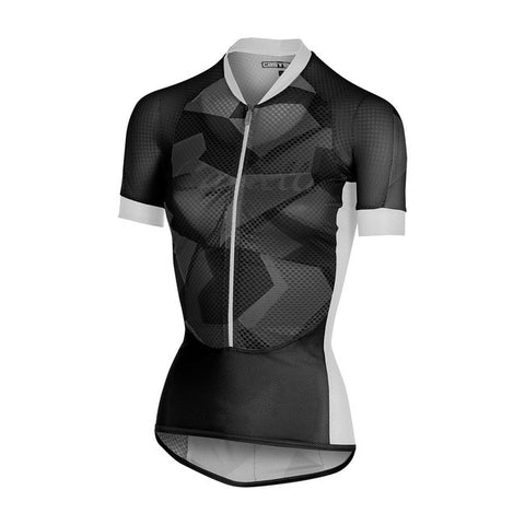 CASTELLI WOMEN'S CLIMBER'S W JERSEY - BLACK/ANTHRACITE