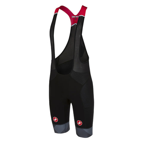 CASTELLI FREE AERO RACE BIBSHORT KIT VERSION - BLACK/ANTHRACITE