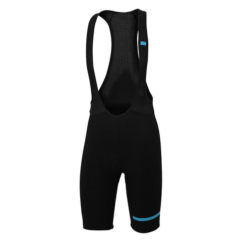 SPORTFUL GIARA BIBSHORT - BLACK/BLUE