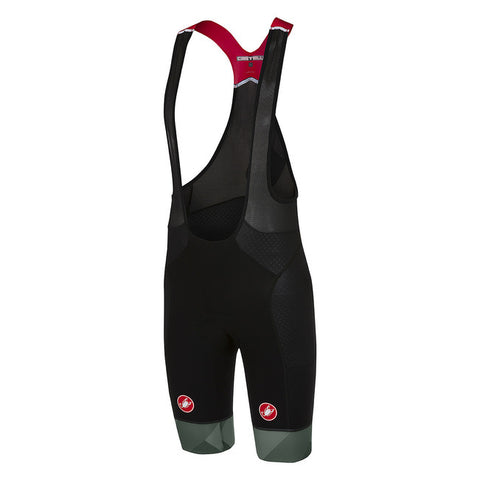 CASTELLI FREE AERO RACE BIBSHORT KIT VERSION - BLACK/FOREST GREY