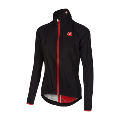 CASTELLI WOMEN'S RIPARO W JACKET - BLACK