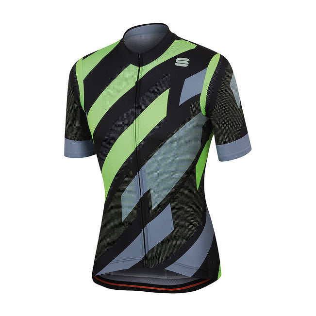 SPORTFUL VOLT JERSEY - BLACK/GREEN