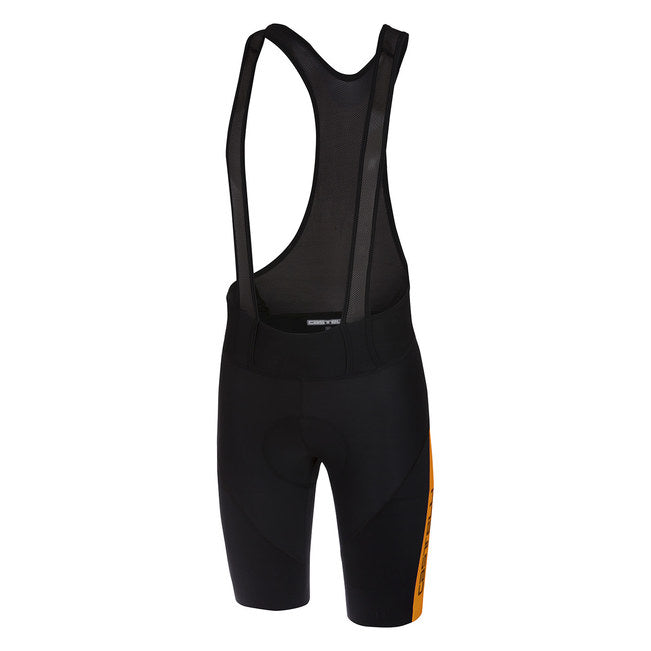 CASTELLI VELOCISSIMO IV BIBSHORT - BLACK/ORANGE