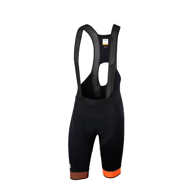 SPORTFUL BODYFIT PRO 2.0 LTD BIBSHORT - BLACK/ORANGE