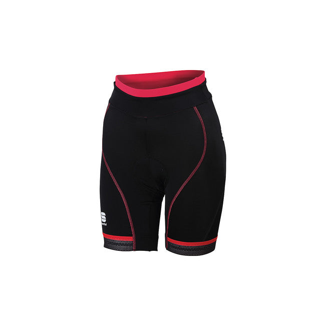 SPORTFUL WOMEN'S GIRO W SHORT - BLACK/PINK