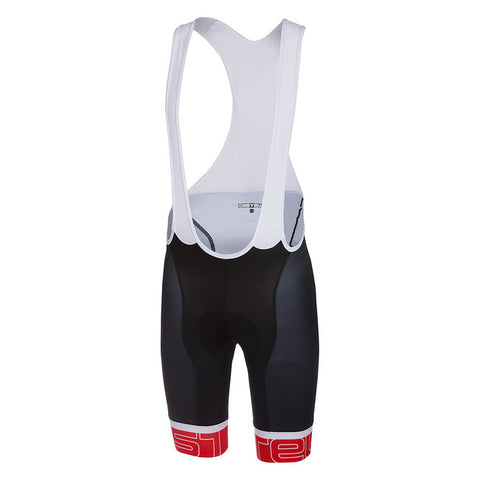 CASTELLI VOLO BIBSHORT - BLACK/RED