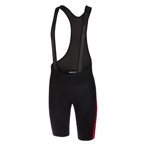 CASTELLI VELOCISSIMO IV BIBSHORT - BLACK/RED
