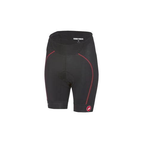 CASTELLI VELOCISSIMA SHORT - BLACK/RED