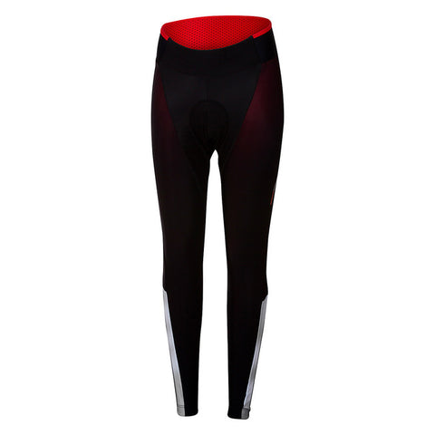 CASTELLI SORPASSO 2 W TIGHT - BLACK-REFLEX