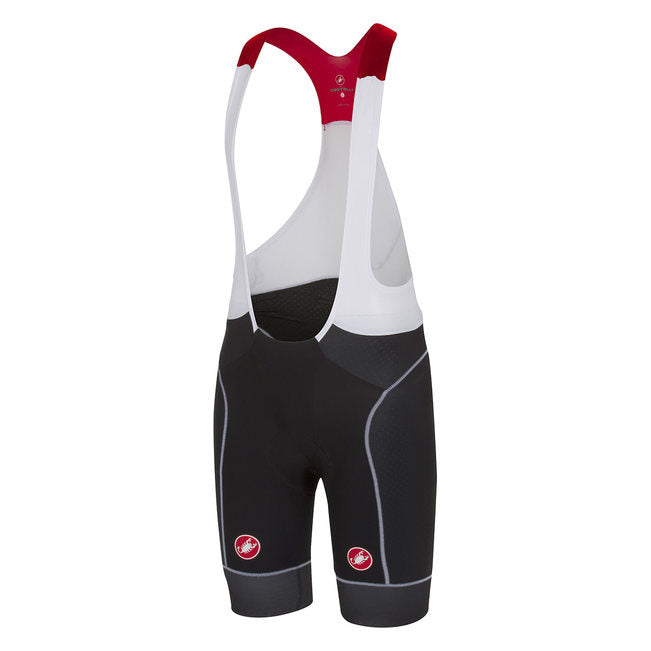 CASTELLI FREE AERO RACE BIBSHORT - BLACK/WHITE