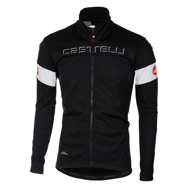 CASTELLI TRANSITION JACKET - BLACK/WHITE