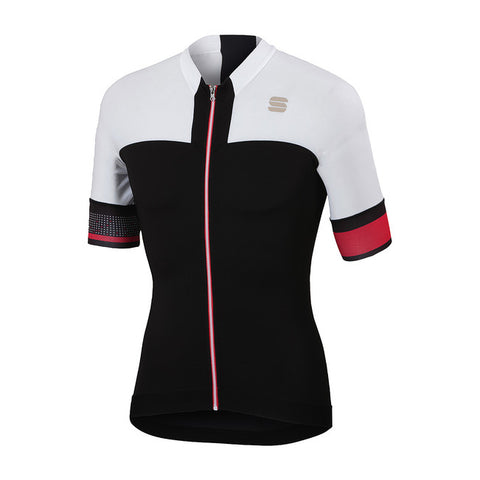 SPORTFUL STRIKE JERSEY - BLACK/WHITE