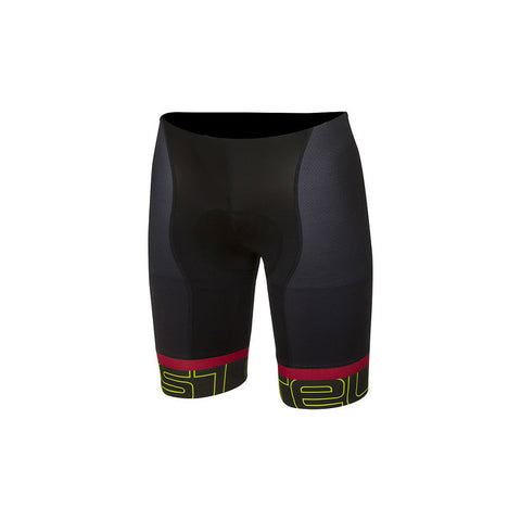 CASTELLI VOLO SHORT - BLACK/YELLOW FLUO