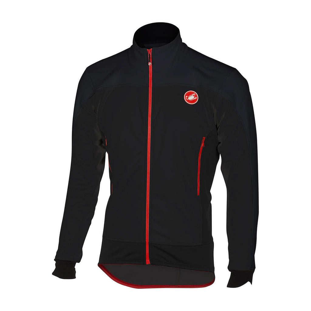 CASTELLI MORTIROLO 4 JACKET - BLACK