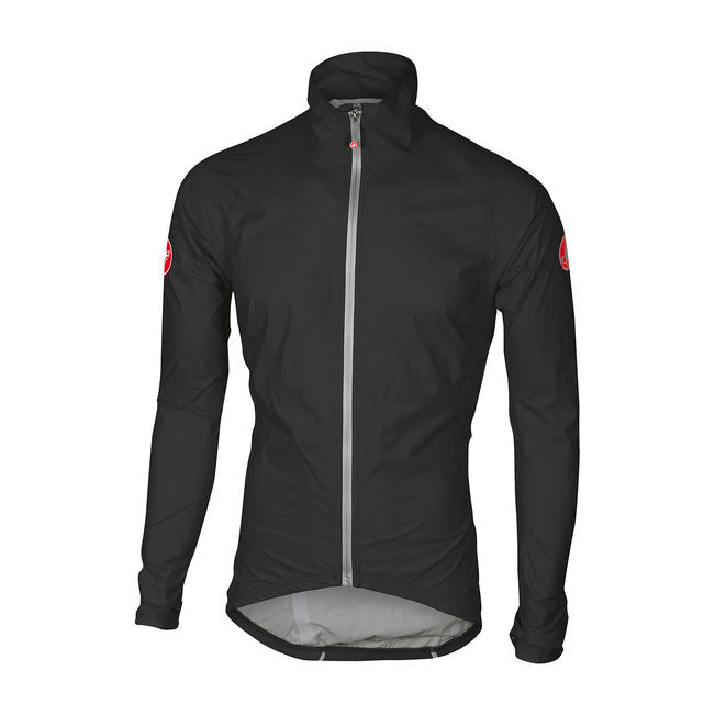 CASTELLI EMERGENCY RAIN JACKET - BLACK