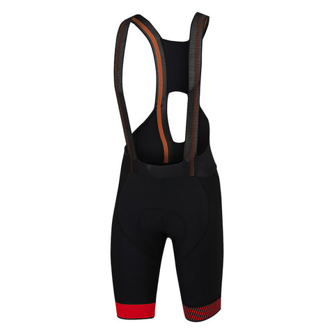 SPORTFUL BODYFIT PRO LTD BIBSHORT - BLACK/RED