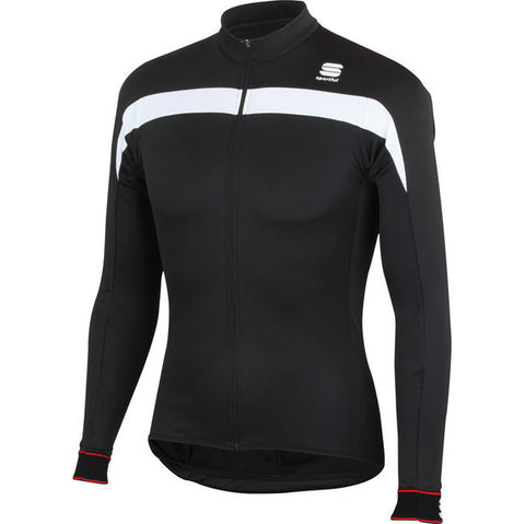 SPORTFUL PISTA THERMAL JERSEY - BLACK (Discontinued Color)